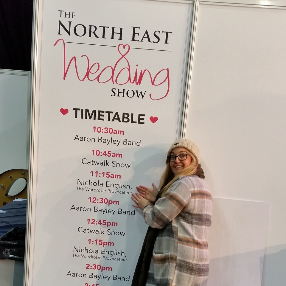 Expert Stylist at -UK Wedding Show Northeast 2016