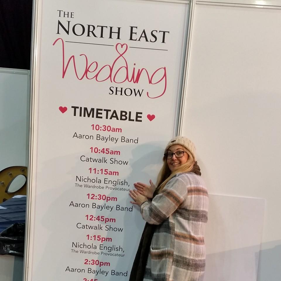 Expert Stylist at -UK Wedding Show Northeast 2016