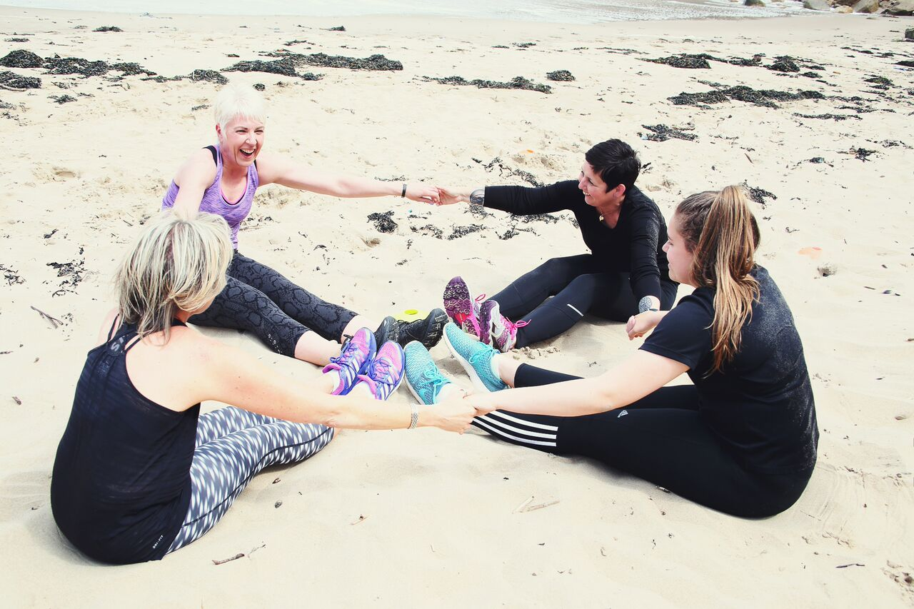 What do you get when a Fitness Trainer, Stylist and Photographer get together?